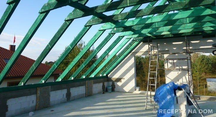 Jak Wzmocnić ściany Kolankowe żeby Dach Ich Nie Wywr 243 Cił