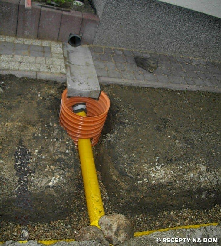 Bardzo dobra Co zrobić, żeby woda z rynny nie zalewała działki? - Recepty na dom WX55