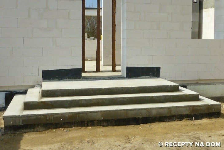 Nowoczesna architektura Jak zrobić schody wejściowe do domu? - Recepty na dom NL38