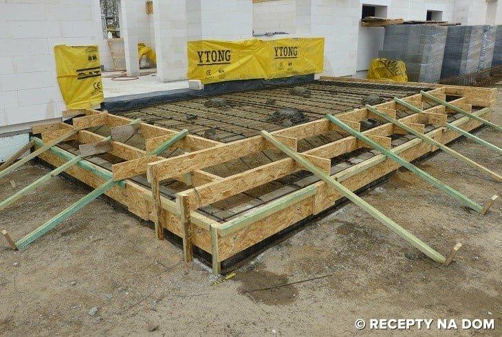 Unikalne Jak zrobić betonowy taras przylegający do domu? - Recepty na dom VU36