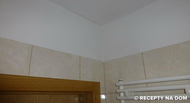 Jak W łazience Wykończyć ścianę Między Glazurą A Sufitem