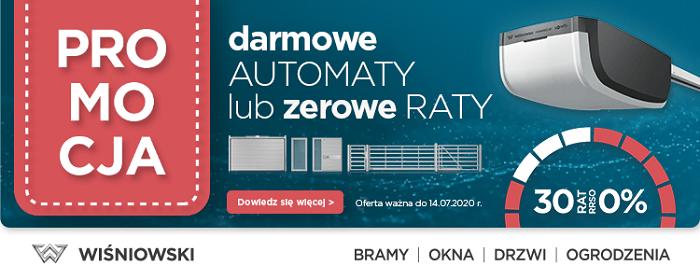 Wiśniowski: darmowe automaty lub zerowe raty
